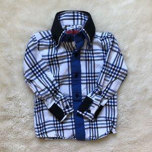 Elie Balleh Toddler Dress Shirt Size 2T